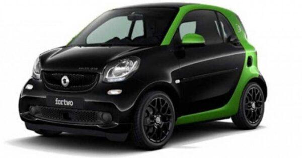 Smart fortwo coupe elettrica passion